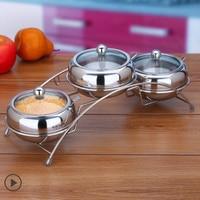 Europe Style Cooking Tools Salt Pepper Cruet Sets Spice Shaker Condimentos Temperos Galheteiro Sauce Bottles Kitchen