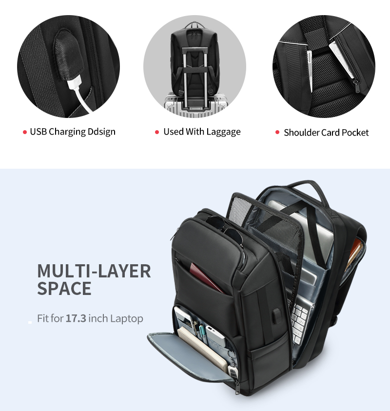 anti-theft laptop backpack - water resistant, usb port, luggage strap Anti-theft Laptop Backpack – Water Resistant, USB Port, Luggage Strap HTB1AmIeaiDxK1Rjy1zcq6yGeXXab