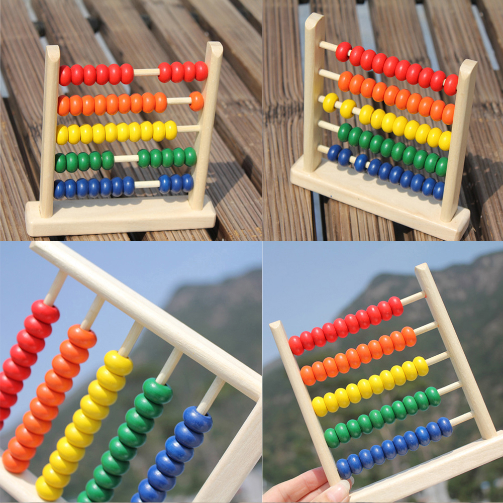 Baby Wooden Toy Small Abacus Handcrafted Educational Toy ...