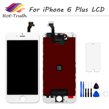 1PCS AAA For iPhone A1522 A1524 A1593 Screen For iPhone 6 Plus LCD Display Touch Screen Digitizer Assembly 5.5 inch 100% Tested