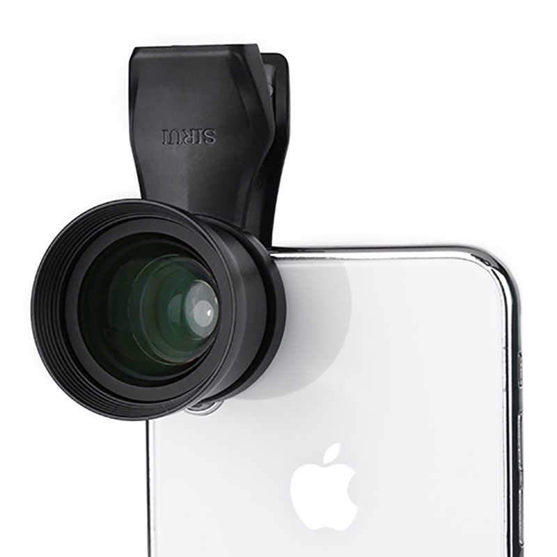 Sirui 60 мм портретный объектив мобильного телефона с зажимом HD 4K телеобъектив для iPhone Max Xs X Pixel 3 samsung S8 S9 huawei P20 Pro