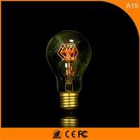 50 шт. 40 Вт Винтаж Дизайн Эдисон накаливания E27 светодиодные лампы, a19 энергосберегающих украшение лампы заменить лампы накаливания AC220V