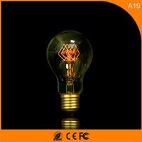 50Pcs 40W Vintage Design Edison Filament E27 LED Bulb,A19 Energy Saving Decoration Lamp Replace Incandescent Light AC220V
