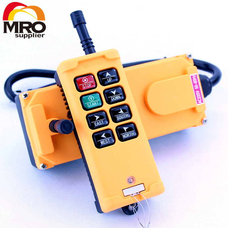 OBOHOS 1 Transmitters 8 Channels One Speed Truck Hoist Crane Winch Radio Remote Control System Controller