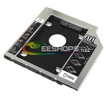 Second Hard Disk Drive Enclosure 2nd HDD SSD Caddy DVD Optical Bayfor Samsung Series 3 NP300 NP300E5E NP300E7A Notebook PC Case