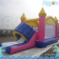 Sea Shipping Pink Inflatable Bouncy House Castle Inflatable Bounce Slide Games
