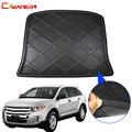 Cawanerl Автомобильный задний коврик для багажника  напольный поднос  подстилка для ботинок  ковёр для багажа  коврик для защиты от грязи  Стайл...
