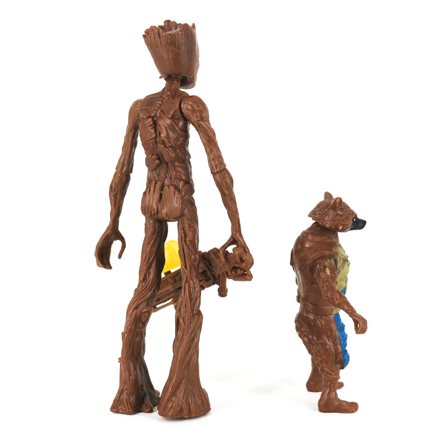 Rocket Raccoon and Groot Basic Action Figures The Avengers Endgame 2
