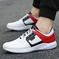 2017 Moda de Nueva Mens Casual Zapatos de Deporte para Los Hombres Al Aire Libre Zapatos para caminar Luz de Malla de Aire Zapatillas Hombre Pisos Hombres Tamaño 39-44