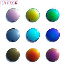 0aecc4bd90 LVCKSK Unisex Sunglasses Lens Polarized Mirror Colorful Myopia Presbyopia  Lenses
