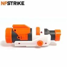 NFSTRIKE Geändert Teil Taktische Taschenlampe für Nerf Elite Series Retaliator Rapidstrike für Nerf Modulus regulator spielzeug gun 2018