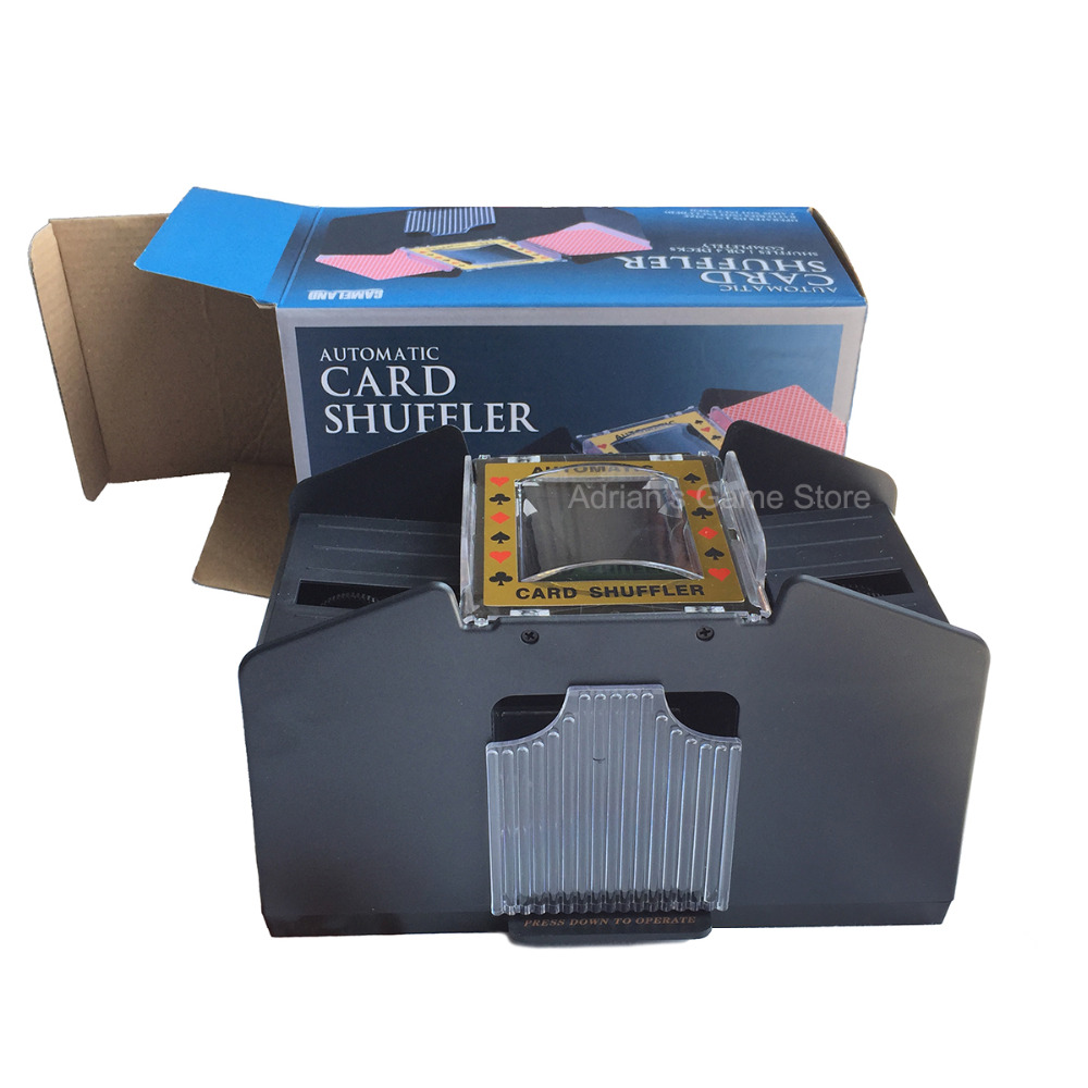 1 4 decks automatic card shuffler updated shuffling