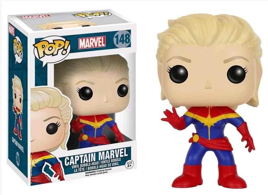 7e265b58 ... Funko POP Movie Captain Marvel Vinyl Doll Boy Girl Friend Birthday  Action Figure Collectible Toys