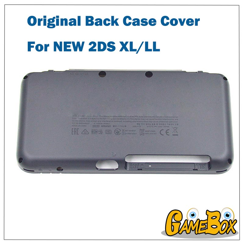 Original Brand NEW Shell Case Back <font><b>Cover</b></font> For Nintend NEW 2DS XL Console Housing <font><b>Battery</b></font> <font><b>Cover</b></font> Case For NEW 2DS LL Console image