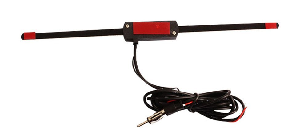 Nuevo 1 unid Negro Universal Del Coche Nueva 12 V Electrónico Estéreo AM/FM Radi