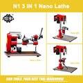 N1 3 in 1 Nano Lathe kit/SIEG 150W Mini Multi-function Lathe machine/Drill & Mill & Lathe Machine