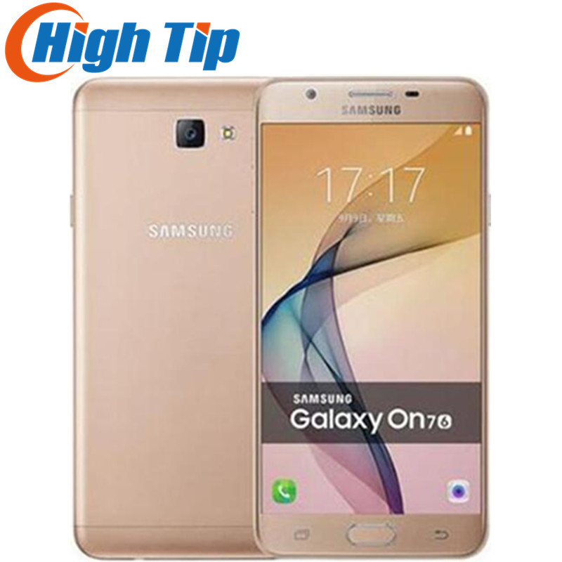 Original Samsung Galaxy On7 2016 G6100 4G LTE Mobile Octa core 5 5 13 0MP 1920x1080
