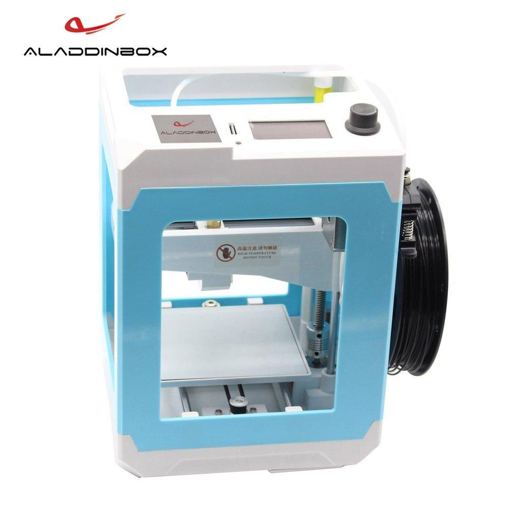 Aladdinbox Desktop 3D-принтеры США/ЕС Plug 1.75 мм нити для школы домой easy Setup Портативный DIY 3 D принтер DIY Прямая доставка