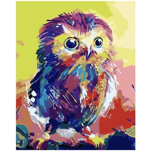animals painting colorful bird purple cat pictures paints diy