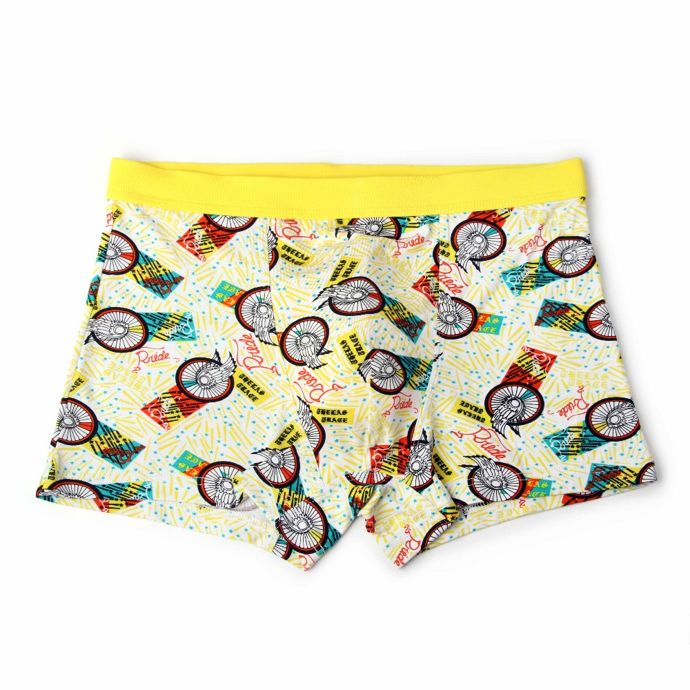 Bamboo Fiber Underwear Men Soft Boxer Shorts Panties Comfortable Breathable Underpants 27