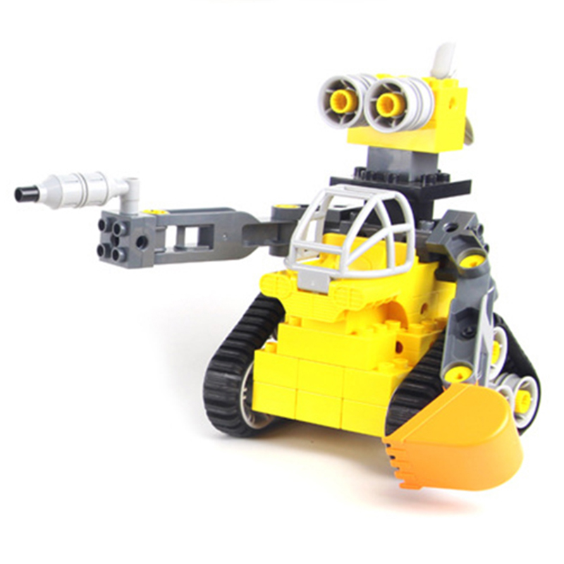 NEW DIY MODEL Technical Robot Toys Large Particle Building Blocks Kids Figures Toy for Children Bricks Compatible Lepins Gifts 632pcs building blocks snow resrot ski lift girls toys kids bricks toy girl gifts compatible lepins friends diy model toys