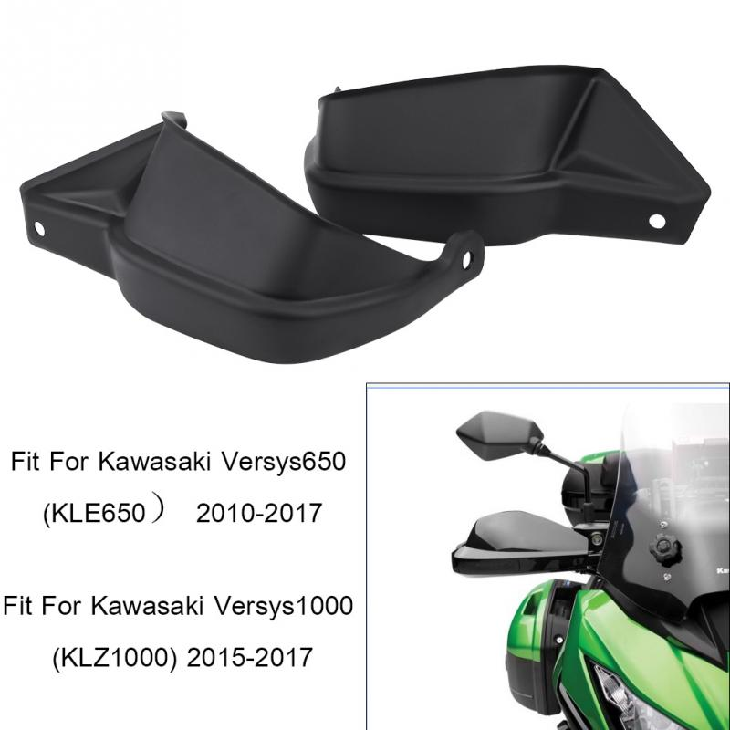 Motorcycle Hand Guard Shells Hand bar Cover Protecter for Kawasaki Versys 650 KLE650 2010 2011 2012