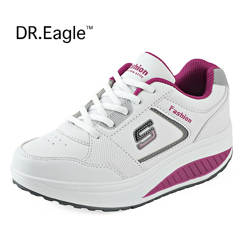 Woman running Sneakers for weight loss womens running shoes krossovky rocking  shoes women walking shoe sports runing shoes-in Running Shoes from Sports  ... b435010ad