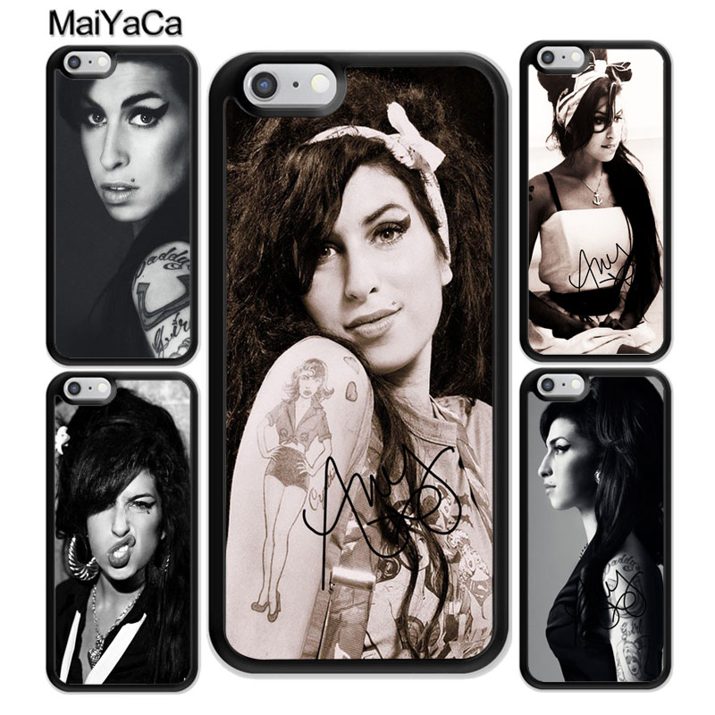 MaiYaCa Amy Winehouse Soft Rubber Phone Case For iphone XR XS MAX 11 Pro MAX X 6 6S 7 8 Plus 5 5S Back Cover Shell