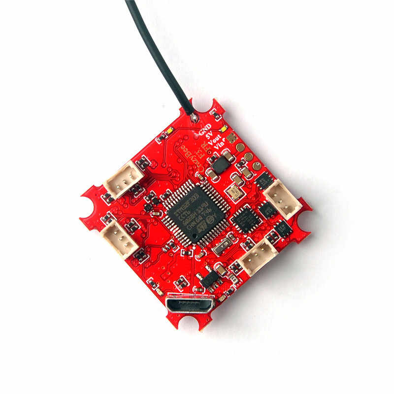 Racerstar Crazybee F3 controlador de vuelo 4 en 1 5A 1 S Blheli_S CES Compatible Frsky D8 receptor