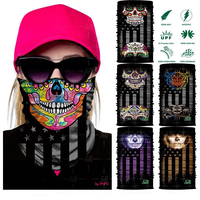 Magic Headwear Love Lettering Outdoor Scarf Headbands Bandana Mask Neck Gaiter Head Wrap Mask Sweatband