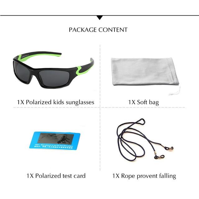 POLARSNOW Kids Sunglasses  5