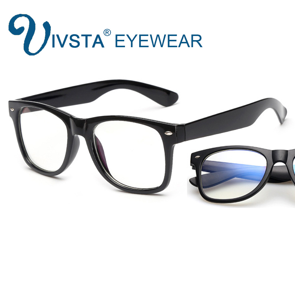 IVSTA Optical Glasses Computer Frame Anti Blue Rays Coating Clear Lenses Transparent Gaming Glasses Men Eyes Protection BL2140