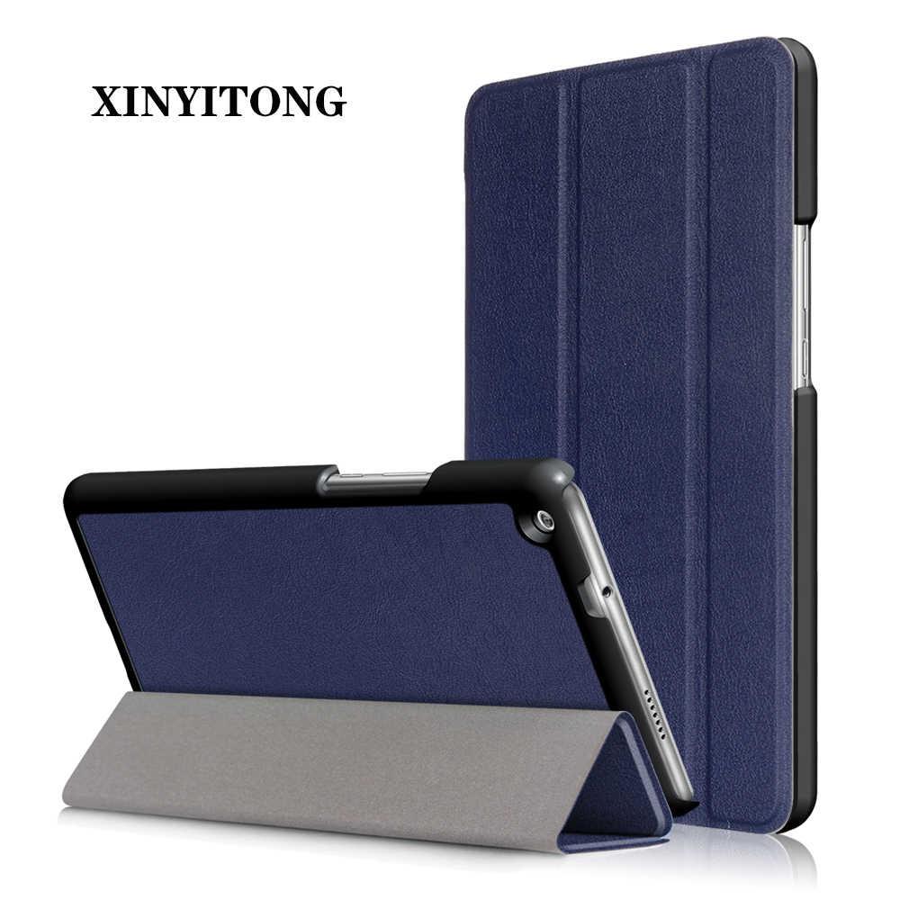 """ضئيلة حافظة لهاتف Huawei MediaPad M3 لايت 8 CPN-AL00/CPN-W09 اللوحي بو الجلود حامل قابل للطي غطاء لهواوي MediaPad M3 8"""" حالة"""