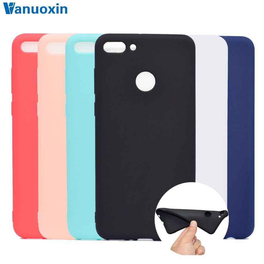 Y9(2018) Phone Cases on for Huawei Y9 2018 case cover Soft TPU Back Cover sFor Huawei Y 9 Y9 2018 cover case Skin Silicone cover