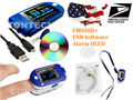 US + China Shipping FDA Contec 100% Warranty Fingertip Pulse Oximeter Spo2 Monitor Heart Rate USB+Software Oximetro