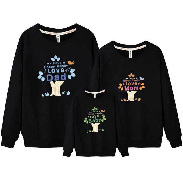 Father and Son Clothes Set Matching Clothes for Couples Family Tree Father  Son Outfits Mother Baby Outfits Korean Clothing DC311 468bbc3bf52