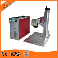 Portable Pigeon Bird Ring Fiber Laser Marking Machine With Air Cooling