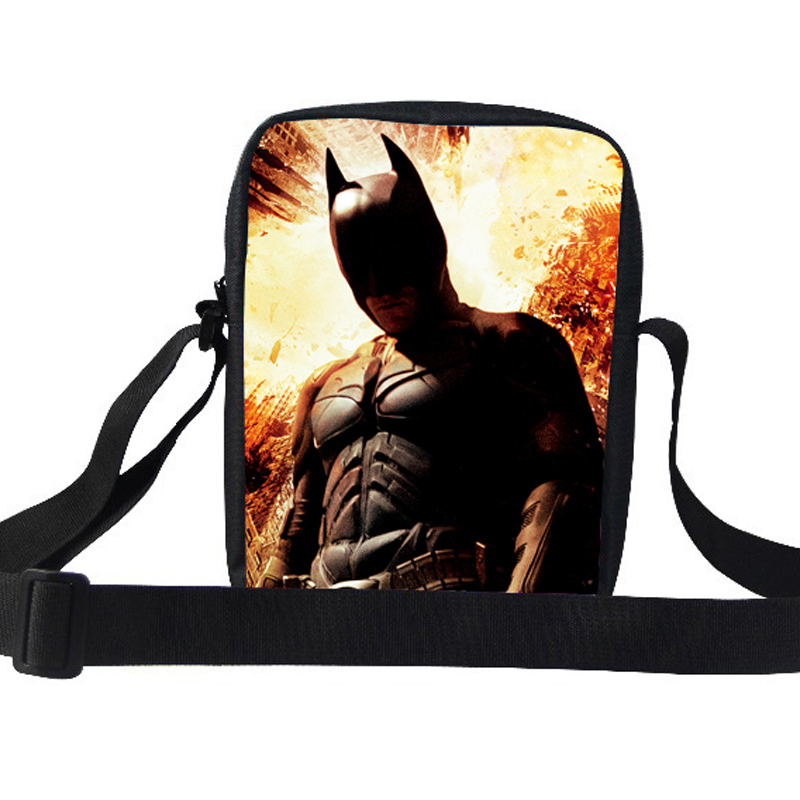 New Fashion Children Shoulder School Bags For Girl Batman Kids Shoulder Bag  Children Messenger Bag For School Kids Messenger Bag