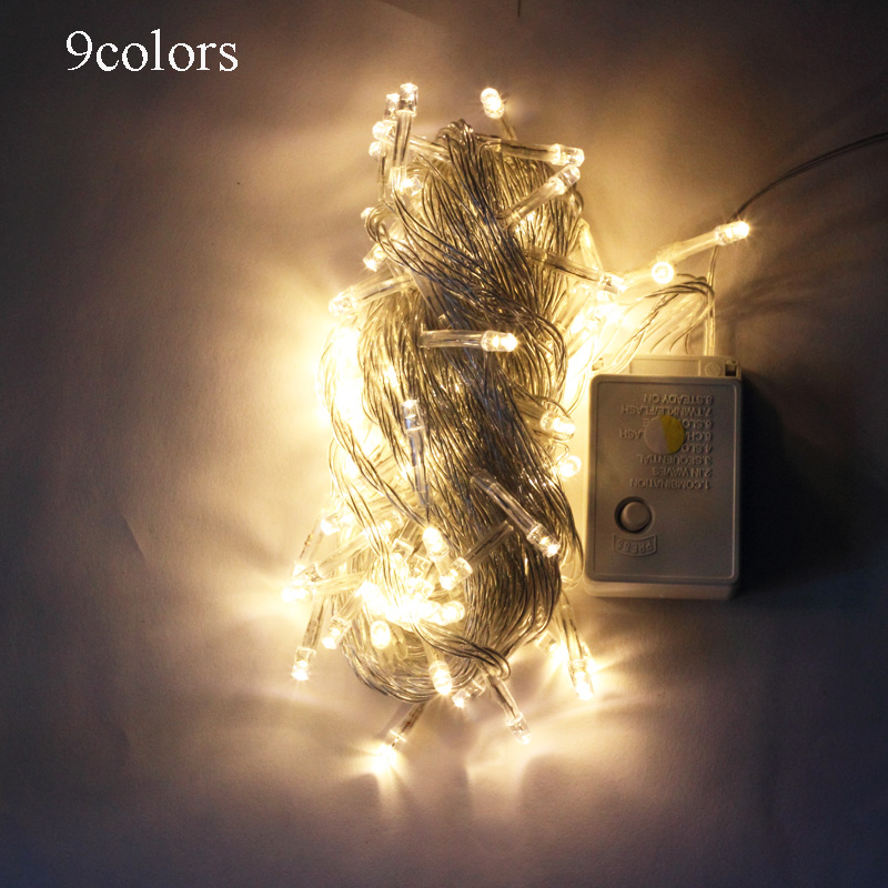 Outdoor String Lights Aliexpress : led string light 30M 300 LEDs AC110V / 220V colorful holiday led lighting waterproof outdoor ...