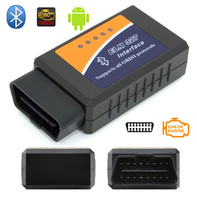 vehicle diagnostic tool obd2 obd ii elm327 v1 5 bluetooth car interface code scanner with. Black Bedroom Furniture Sets. Home Design Ideas
