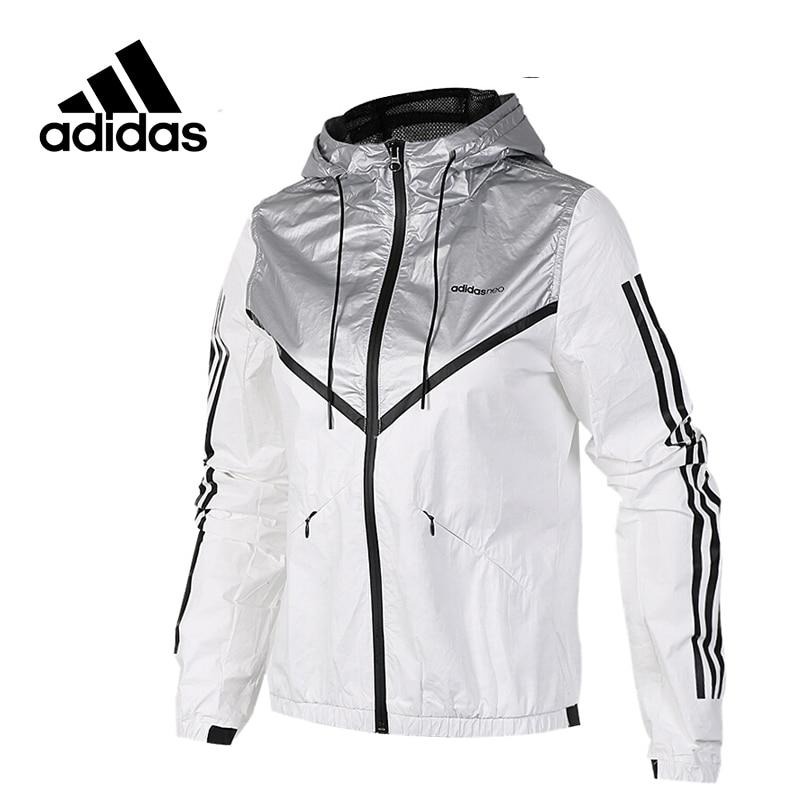 Adidas New Arrival Original NEO Label Women's  Windproof Jacket Hooded Sportswear BP6576 original new arrival 2017 adidas neo label graphic men s t shirts short sleeve sportswear