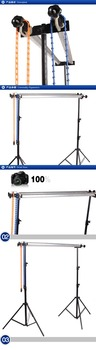 Manual background axis photography equipment background cloth gantry manual background frame lifting two axis dual purpose