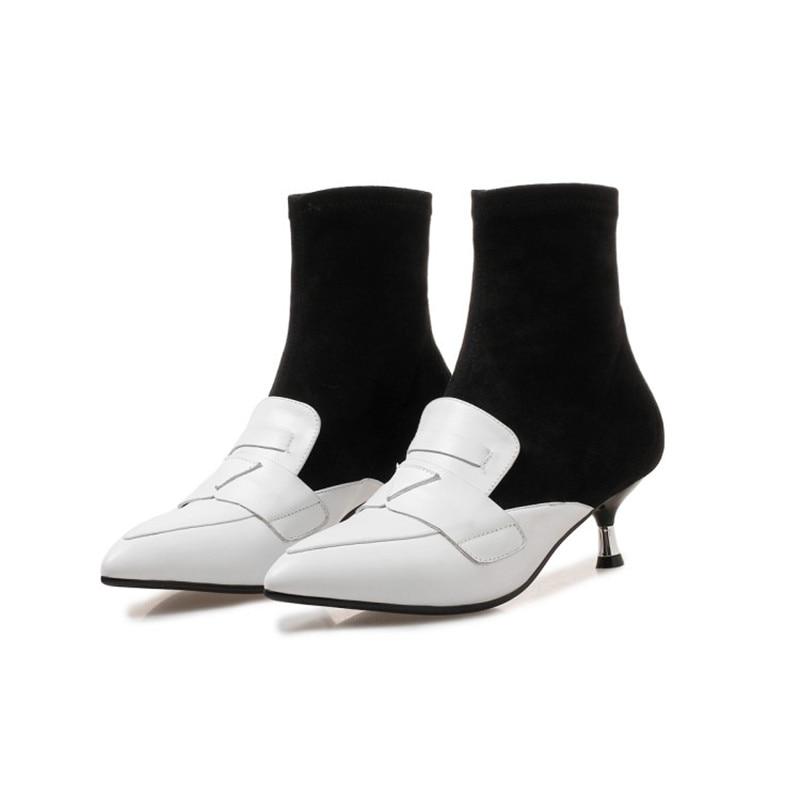 Mode Talons Daim Qualité Racine Produit 1 Haute Populaire De Femme 2 Pu Femmes D'hiver Chaussures Promotionnel Sexy Confortable Awq4tF7