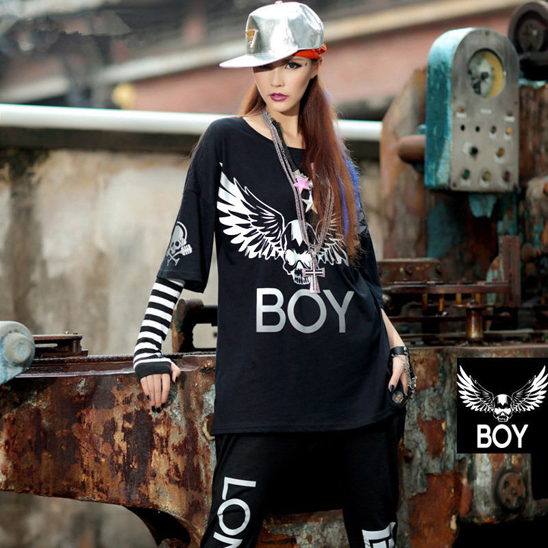 2017 Hip Hop Dance Clothes Streetwear Fashion 3M ...