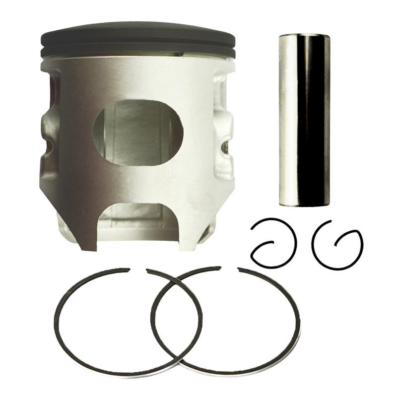 Motorcycle Engine Parts +60 Cylinder Bore Size 67mm Pistons & Rings Kit For YAMAHA YZ250 YZ 250 1999-2015 zoomer ruckus fi nps50 engine frame extend extension kit cables silver motorcycle center parts