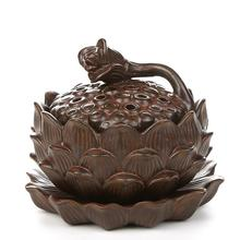 Fragrant incense road ceramic ornaments sandalwood coil Aloes rust enamel lying accessories