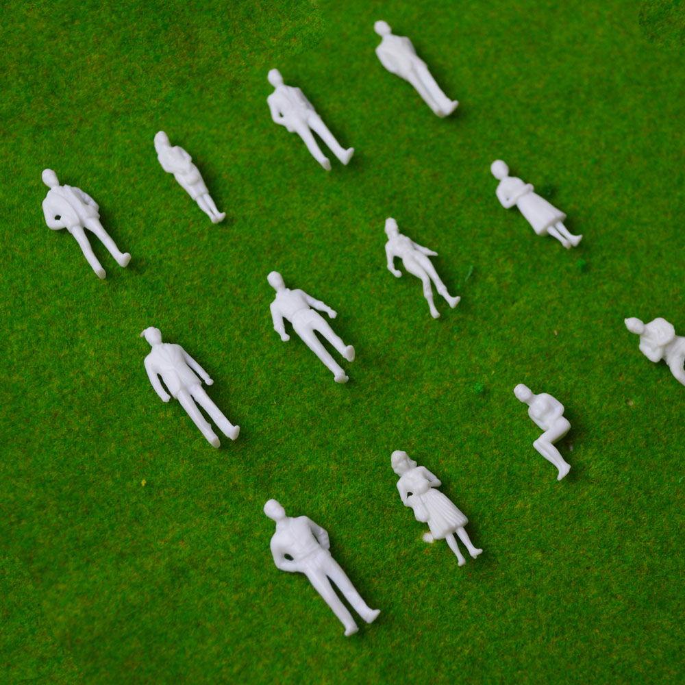 150-scale-model-miniature-white-figures-Architectural-model-human-scale-HO-model-ABS-plastic-peoples-2