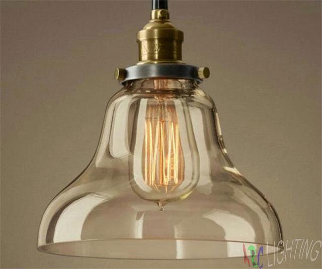 Online Shop Vintage Licht Edison Industriële Iron Body Glas ...
