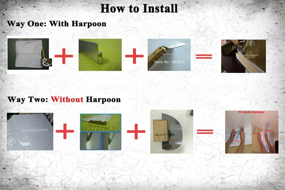 two ways to install