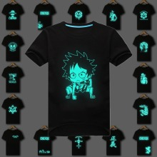 One Piece Fluorescent Luffy Zoro T shirt
